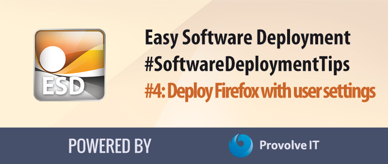 Software Deployment Tips