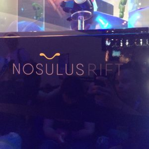 South Park's take on the Oculus Rift called Nosulus Rift. During certain parts of the upcoming game 'The Fractured But Whole