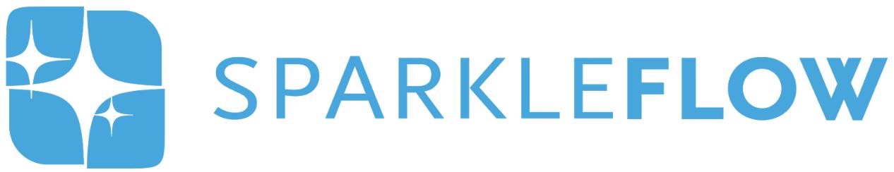 SparkleFlow logo